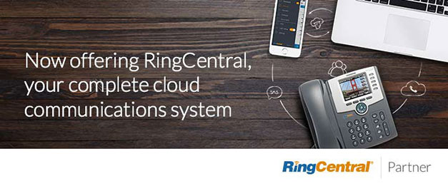 Now Offering RingCentral, your complete cloud communications system